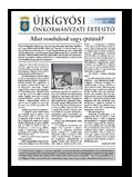 Újkígyósi Önkormányzati Értesítő 2011. április